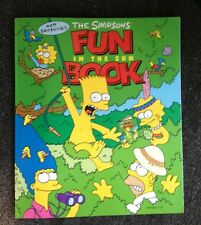 2 Matt Groening's The Simpsons Fun in the Sun Book & Simpsons Comics on Parade