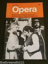 OPERA MAGAZINE - MASSERNET - JULY 1979