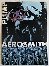 Aerosmith Original Pump Tourbook 1989