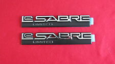"New OEM Pair of Buick ""Le SABRE LIMITED"" Nameplate Emblem Badge 20576640"