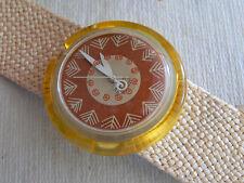 1994  Pop Swatch Watch  Leaf  Limited edition 33,333