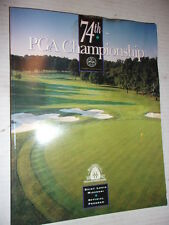74TH PGA CHAMPIONSHIP 1992 ST LOUIS MO OFFICIAL PROGRAM
