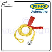 RING resistente traino CAVO 2000kgs 2.0 TONI Gancio a moschettone RCT1520