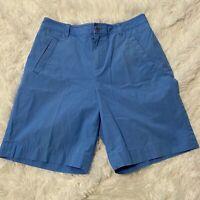 Lauren Ralph Lauren Womens Size 4 Blue Classic Chino Shorts EUC