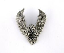 Flying Eagle Double Hidden Bail Pendant Stainless Steel