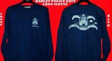 HARLEY DAVIDSON POLICE NAVY LONG SLEEVE SHIRT (XXL)