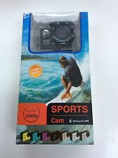 BNIB SPORTS CAM FULL HD 1080 WATERPROOF 2 INCH SCREEN CAMERA VIDEO NEW IN BOX