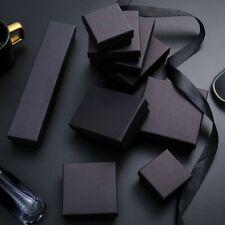 Matte Velvet Insert Cardboard Paper Boxes Gift Jewelry Case Brooch Bracelet Hot