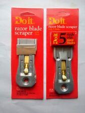 Stainless Razor Blade Scraper with Blades, MultiPurpose Removing Tool Multi Pack