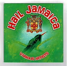VARIOUS-hail jamaica     all tone LP    (hear)    reggae