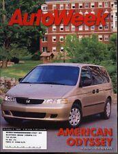 AutoWeek Magazine October 5, 1998 Honda Odyssey, Volkswagen Eurovan