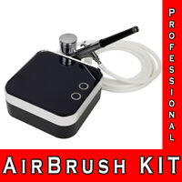 Airbrush Kit Compressor Mini Spray Gun for Makeup Body Painting Tattoo Models
