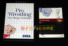 PRO WRESTLING Master SystemVersione Europea PAL ••••• COMPLETO