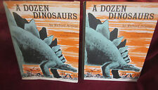 A Dozen Dinosaurs ~ Richard Armour. Illust Paul GALDONE. 1968 UK VINTAGE  HbDj