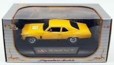 Signature Models 1/32 Scale Truck 32436 - 1969 Chevrolet Nova SS - Yellow