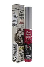 theBalm Meet Matt- E Hughes Long-lasting Liquid Lipstick Chivalrous