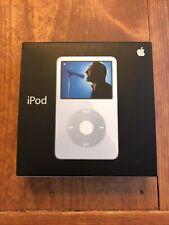 NEW Apple iPod classic 5th Generation 30GB - White A1136 U2 New Battery