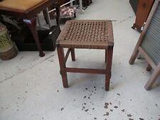 Vintage Woven Stool