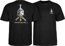 Powell Peralta Skateboards Old School Skull & Sword Reissue T-Shirt Black