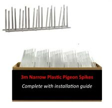 Plastic Bird Spikes & Pigeon Spikes | 3 m Pack | Installation Guide