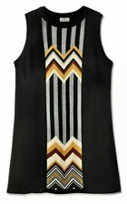 Missoni Target Patchwork Sleeveless Sweater Dress Size Small