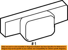CHRYSLER OEM 06-07 300 EXTERIOR TRIM-FENDER-Body Side Molding Right WG24DA4AD