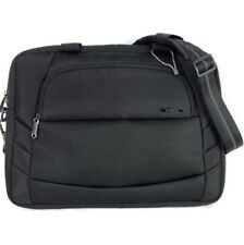 """Samsonite 17"""" Slim Business Messenger  Travel Briefcase Laptop Bag Black"""