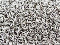 Nickel Plated Sea Fishing Split Rings All Sizes 3.5 4.0 4.5 5.0 7.0 8.0 10.0mm