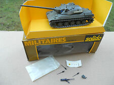 """VEHICULE MILITAIRE SOLIDO CHAR AMX 30B1 """" STRASBOURG """"   MINT IN BOX"""