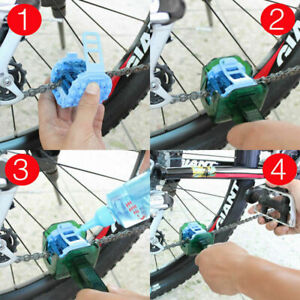 5 in 1 Cycling MTB Bicycle Flywheel Clean Wash Brush Tool Bike Chain Cleaner Kit