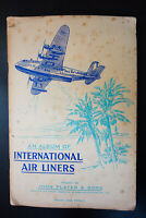 John Player & Sons International Air Liners Complete Tobacco Card Collection