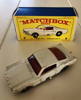 MATCHBOX LESNEY No. 8 Ford Mustang in Original Box 1968