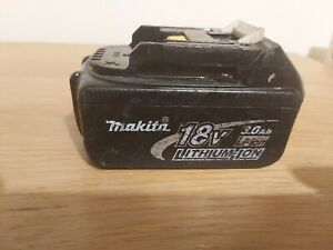 Genuine Makita BL1830 18V 3.0Ah  Lithium ion Battery