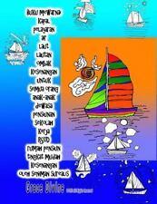 Buku Mewarnai Kapal Pelayaran Air Laut Lautan Ombak Kesenangan Untuk Semua...