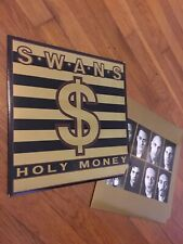 SWANS Holy Money Original PROMO 1986 pressing vinyl LP Goth No Wave Noise