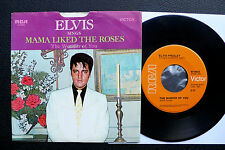 """7"""" Elvis Presley-mamma piace the Roses-USA RCA W/pic"""