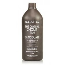 Naked Tan Chocolate Solution 15% DHA Spray Tan Solution - 2hr wash'n'wear Tanned