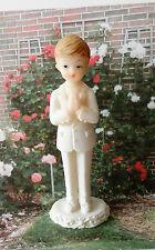 Kommunion Tortenfigur Kommunionskind weiß Anzug Figur Konfirmation Junge Torte