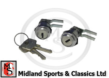 BHH973P - MGB & MGC EXTERIOR DOOR LOCKS & x2 KEYS - PAIR - BHH972 BHH973