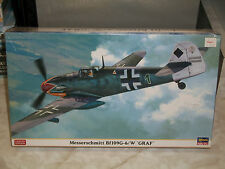 Hasegawa 1/48 Messerschmitt Bf 109G-6/W 'Graf' - Limited Edition - Sealed