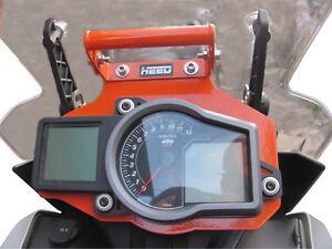 supporto GPS / GPS support HEED per KTM 1190, 1050 Adv.,1290 Super Adv - Arancia