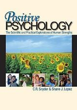 Positive Psychology: The Scientific and Practical Explorations of Huma-ExLibrary