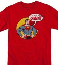 Superman T-shirt Bad Guys DC comic book Batman superhero Christmas tee DCO740