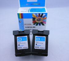 HP901 XL Black Ink Cartridge for HP OfficeJet J4860 J4600 J4580 J4540 J4624 2PK