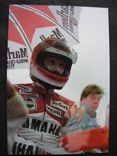 Photo Marlboro Yamaha YZR500 #1 Eddie Lawson (USA) Dutch TT Assen 1987 #2 big