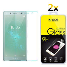 2-Pack Khaos For Sony Xperia XZ2 Compact Tempered Glass Screen Protector