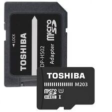Tarjetas de memoria Toshiba SD para cámaras de vídeo y fotográficas