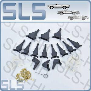 """Set D-Jet """"450"""" Anschussstecker mit Gummikappen für Mercedes Benz W107 450"""