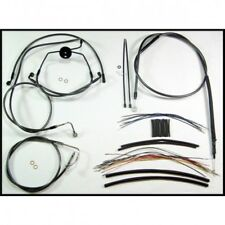 Control cable kit touring cromo negro - Magnum 487321