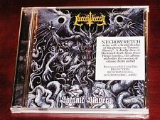 Necrowretch: Satanic Slavery CD 2017 Season Of Mist Records USA SUA 074 NEW